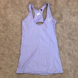 Gymshark purple vest/tank top